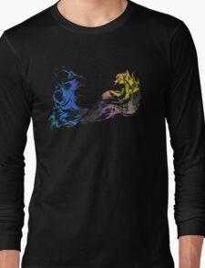 Final Fantasy X logo grunge Long Sleeve T-Shirt