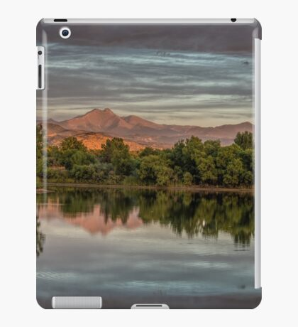 Twin Peaks And Golden Ponds iPad Case/Skin