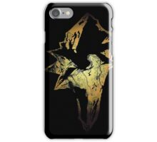 Final Fantasy IX logo grunge iPhone Case/Skin