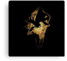 Final Fantasy IX logo grunge Canvas Print