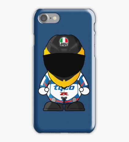 Guy Martin Racer Cartoon Design iPhone Case/Skin