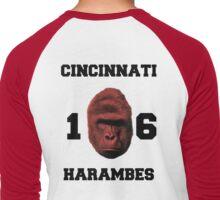 The Cincinnati Harambes  Men's Baseball ¾ T-Shirt