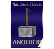 I like this drink - ANOTHER! Poster
