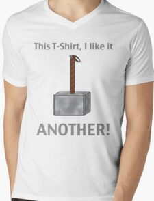 I like this drink - ANOTHER! Mens V-Neck T-Shirt