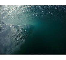 Underwater Twister Photographic Print