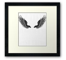 Vet Techs May Not Be Angels, But They Are The Next Best Thing Framed Print