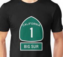 PCH - CA Highway 1 - Big Sur Unisex T-Shirt