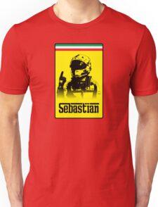 Sebastian Vettel Logo Design Unisex T-Shirt