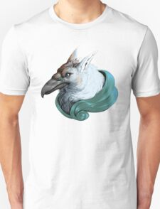 Griffon with Ribbon Unisex T-Shirt