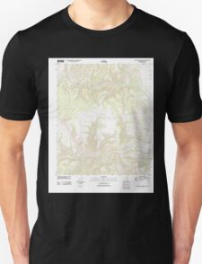 USGS TOPO Map Arizona AZ Willow Mountain SE 20111031 TM Unisex T-Shirt