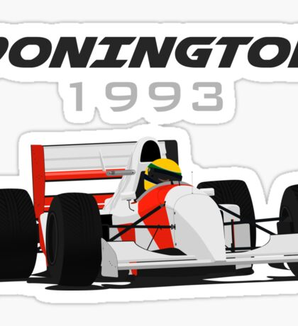 F1 Legend #8 - McLaren-Ford MP4/8 Sticker