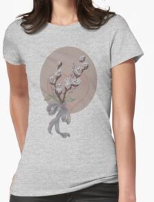 PussyWillows (the feline variety) Womens Fitted T-Shirt