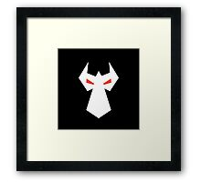 Bane In Shadows Framed Print