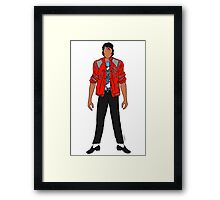 Beat IT Jackson Framed Print