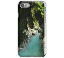 Tiny Alpine Gorge iPhone Case/Skin