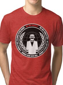 MR ROBOT Tri-blend T-Shirt