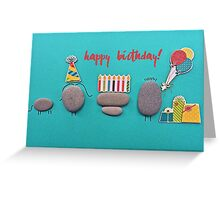 You Rock! - happy birthday 01 Greeting Card