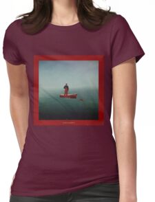 lil boat Womens Fitted T-Shirt