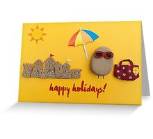 You Rock! - happy holidays 01 Greeting Card