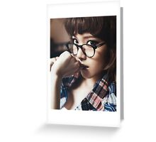 Jessica Jung Greeting Card