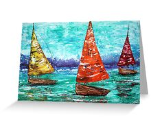Sailboat Dreams Greeting Card