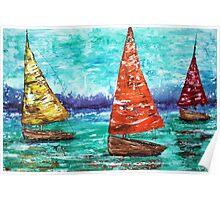 Sailboat Dreams Poster