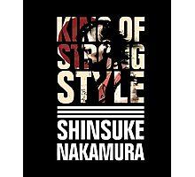 Shinsuke Nakamura - King of Strong Style Tshirt Photographic Print