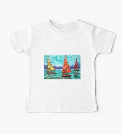 Sailboat Dreams Baby Tee