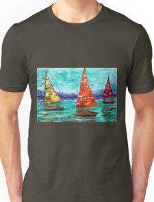 Sailboat Dreams Unisex T-Shirt