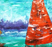 Sailboat Dreams Sticker