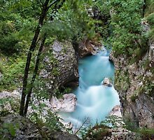 The Power of Isonzo River by SpaceShipFun
