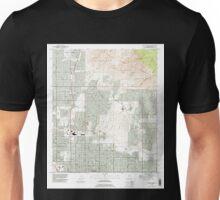 USGS TOPO Map Arizona AZ Tucson North 313833 1992 24000 Unisex T-Shirt