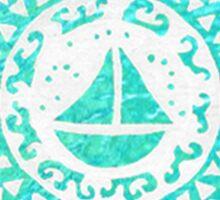 Aqua Sticker