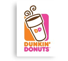 Dunkin Donuts Logo Canvas Print