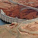 Glen Canyon Dam And Bridge by phil decocco