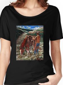 High Country Morning Women's Relaxed Fit T-Shirt