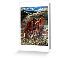 High Country Morning Greeting Card