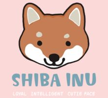 Shiba Inu: Loyal  Intelligent  Cutie Face Kids Clothes