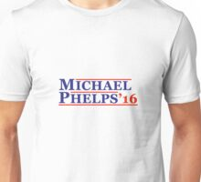 Michael Phelps Sticker Unisex T-Shirt