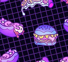 Junkfood Pattern  by siins