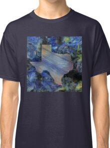 A Starry Night in Texas Classic T-Shirt