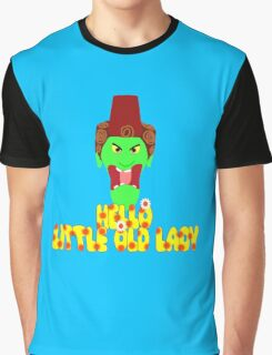 "Kettle Witch-""Hello, Little Old Lady"" Graphic T-Shirt"
