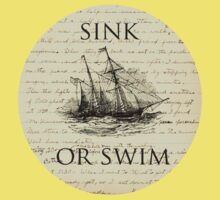Sink Or Swim One Piece - Short Sleeve