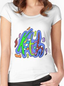 Zef - Kitch Women's Fitted Scoop T-Shirt