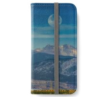 Moonset Over Indian Peaks iPhone Wallet/Case/Skin