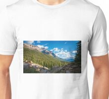 Valley Near Moraine Lake Banff Unisex T-Shirt