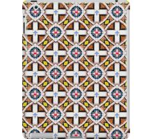 Wooden Cross Screen Pattern iPad Case/Skin