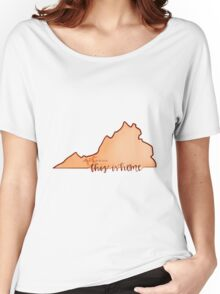 This is home-VT Women's Relaxed Fit T-Shirt
