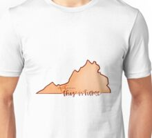 This is home-VT Unisex T-Shirt