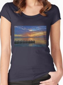 Morning Rays Women's Fitted Scoop T-Shirt